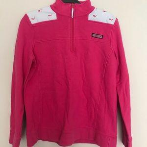 Hot pink Vineyard Vines Shep Shirt